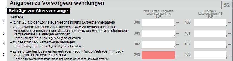 ruerup-rente_steuererklaerung-anlage-vorsorgeaufwendungen